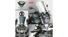 BMW R1200R & RnineT ZTechnik Windscreen V-Stream