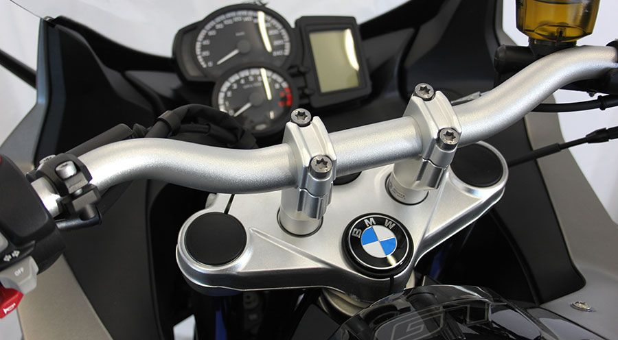 BMW F800S, F800ST & F800GT Handlebar height riser 20 mm