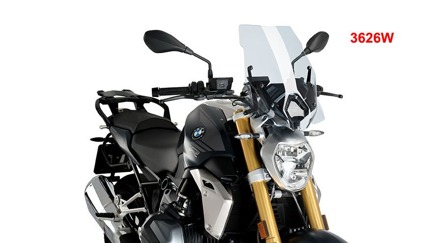 BMW R 1250 R Touring windshield for original mounting