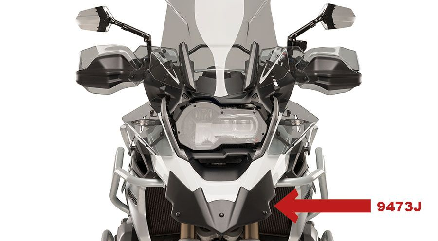 BMW R 1200 GS, LC (2013-) & R 1200 GS Adventure, LC (2014-) Beak enlargement
