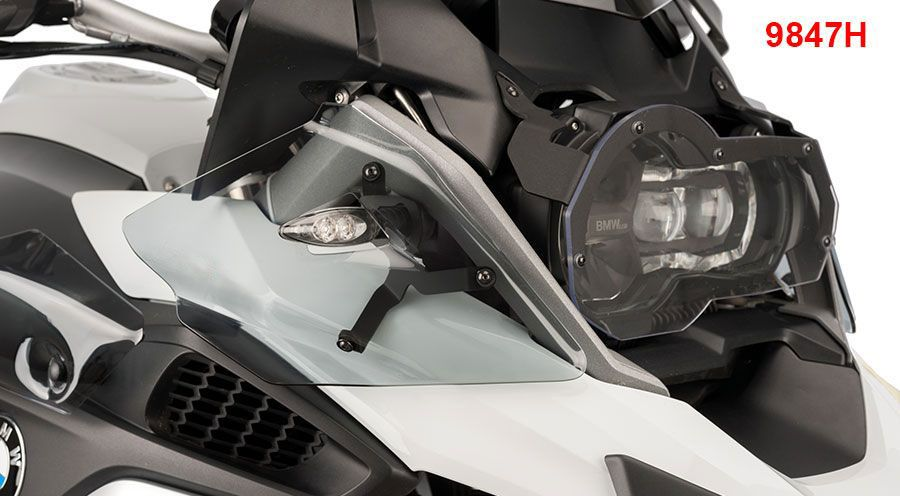 BMW R 1200 GS, LC (2013-) & R 1200 GS Adventure, LC (2014-) Upper deflectors