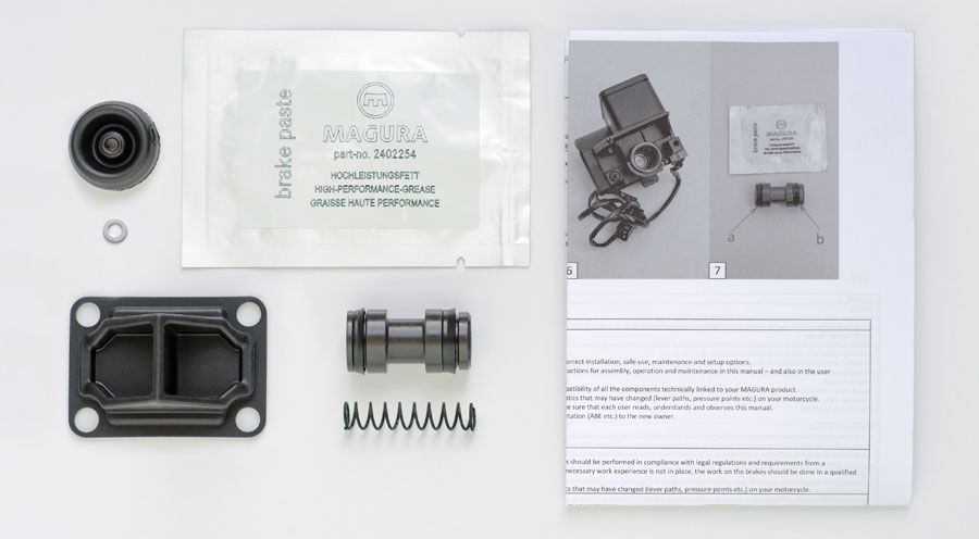 BMW R1100RS, R1150RS MAGURA 20mm Repair Kit for Brake Master Cylinder