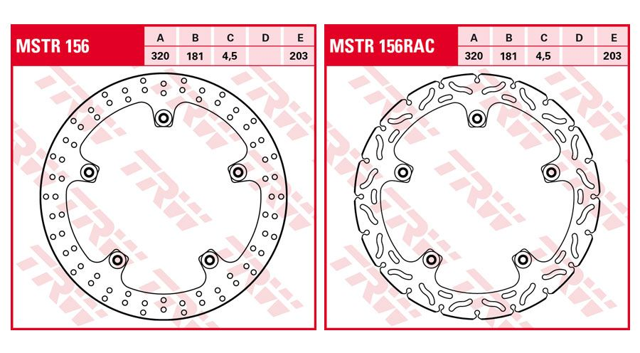 BMW R 1250 RT Front Brake Discs Rivet Pack