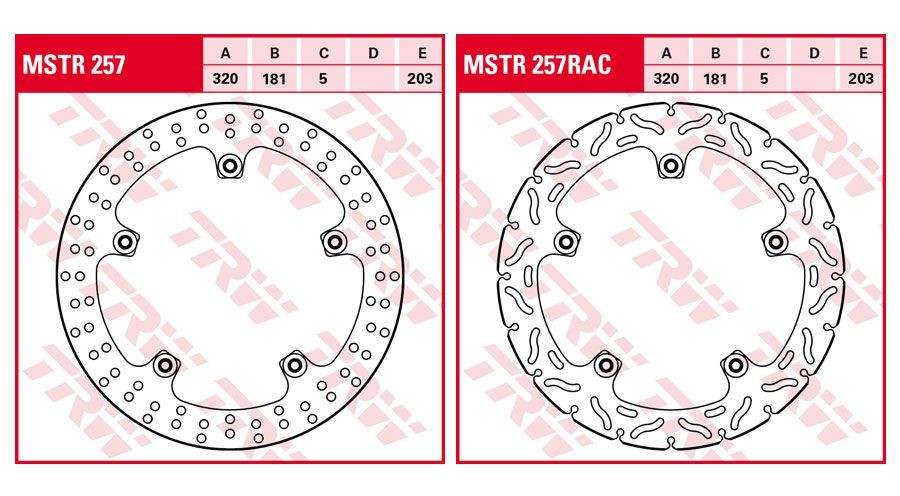 BMW S1000RR Front Brake Discs Rivet Pack