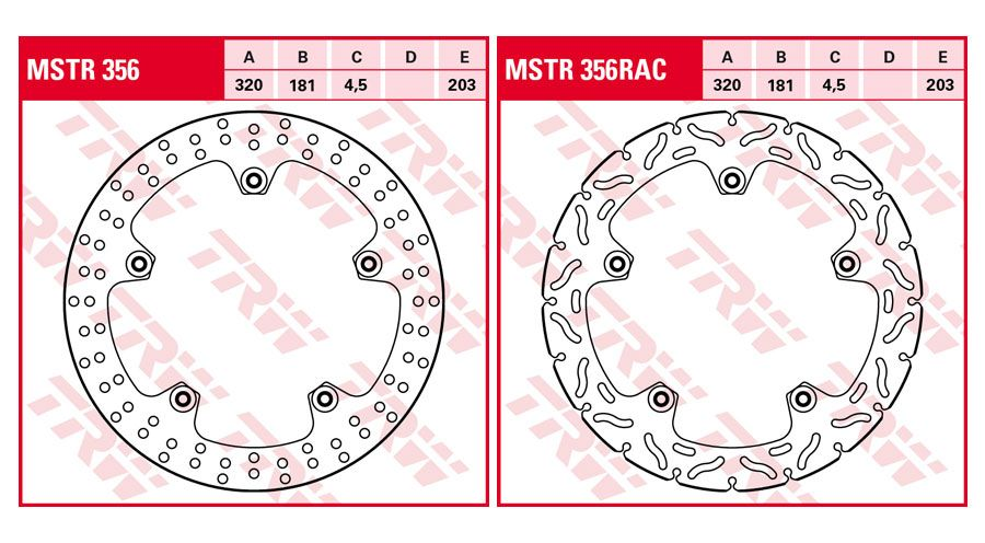 BMW R1200ST Front Brake Discs Retrofit