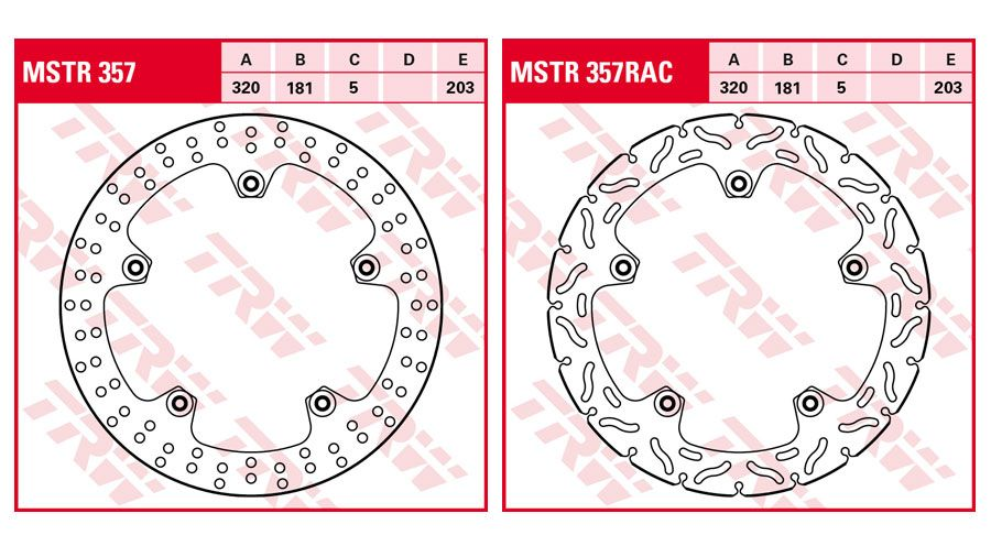 BMW R1100S Front Brake Discs Retrofit