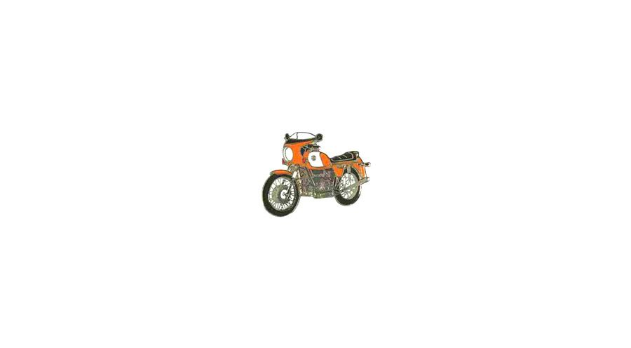 BMW R 100 Model Pin R 90 S (orange)