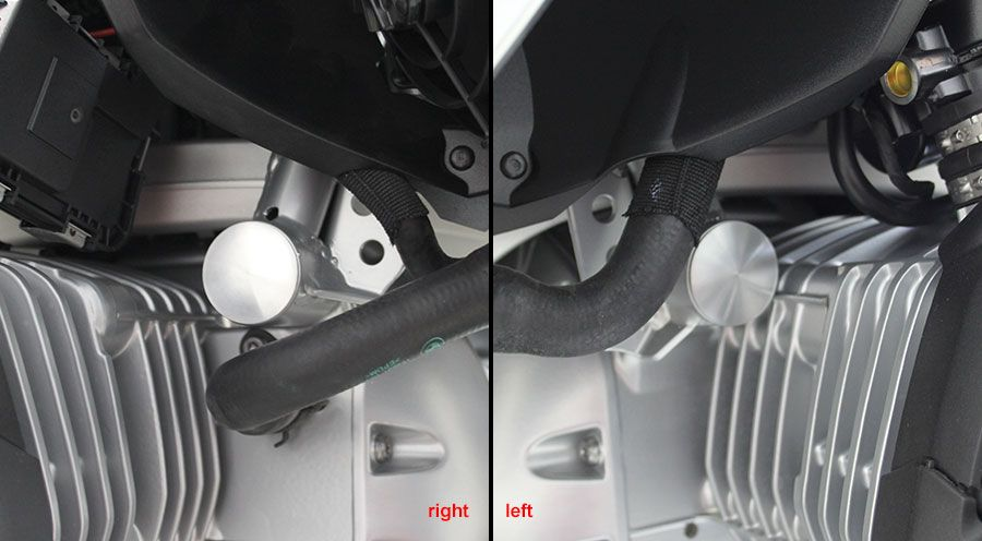 BMW R 1200 RS, LC (2015-) Frame Covers - Engine Mounting