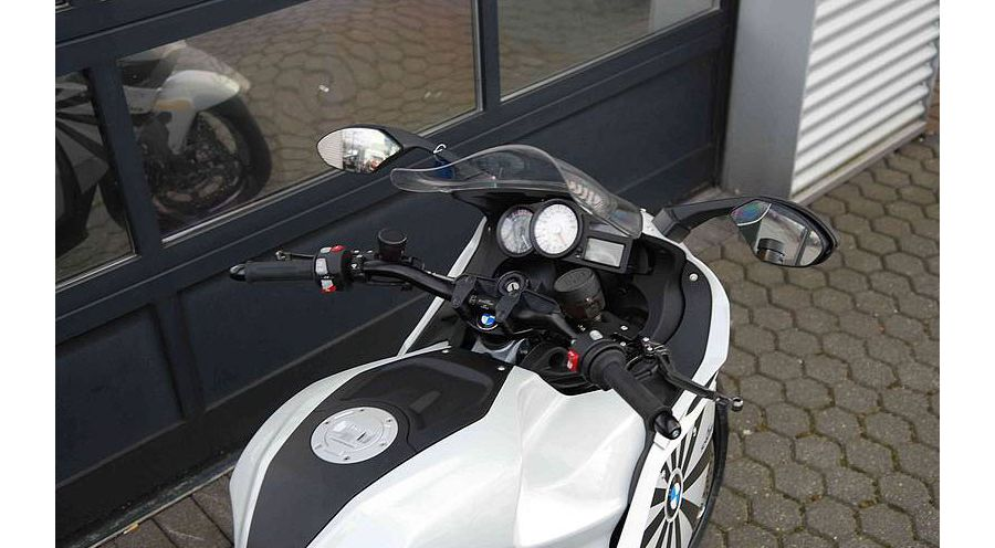 superbike handlebars for bmw k1300s | bmw motorcycle accessory hornig