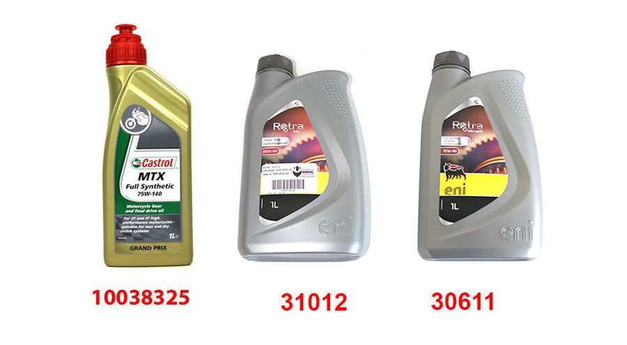 BMW R1100S Transmission oil