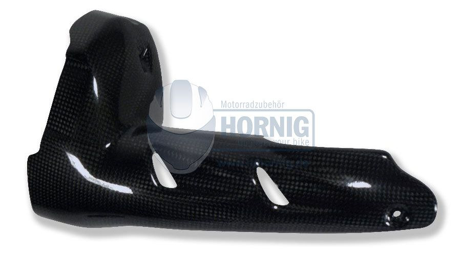 BMW R 1200 GS, LC (2013-) & R 1200 GS Adventure, LC (2014-) Carbon exhaust heat shield low