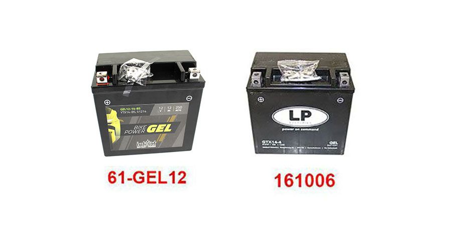BMW K1300R Batteries