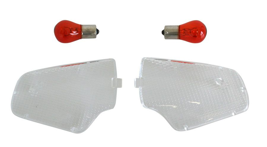 BMW R1100RS, R1150RS Clear indicator lenses rear