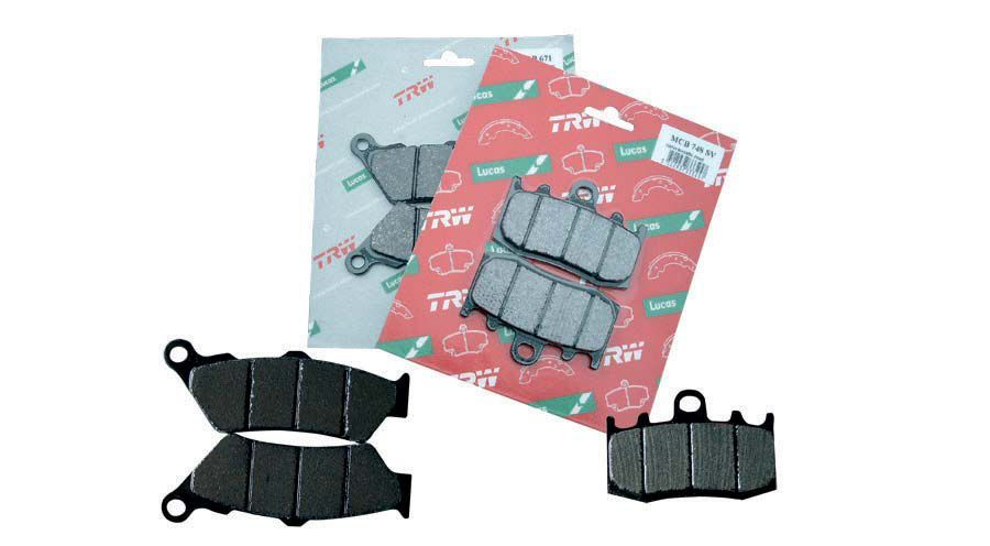 BMW R nine T Rear brake pads