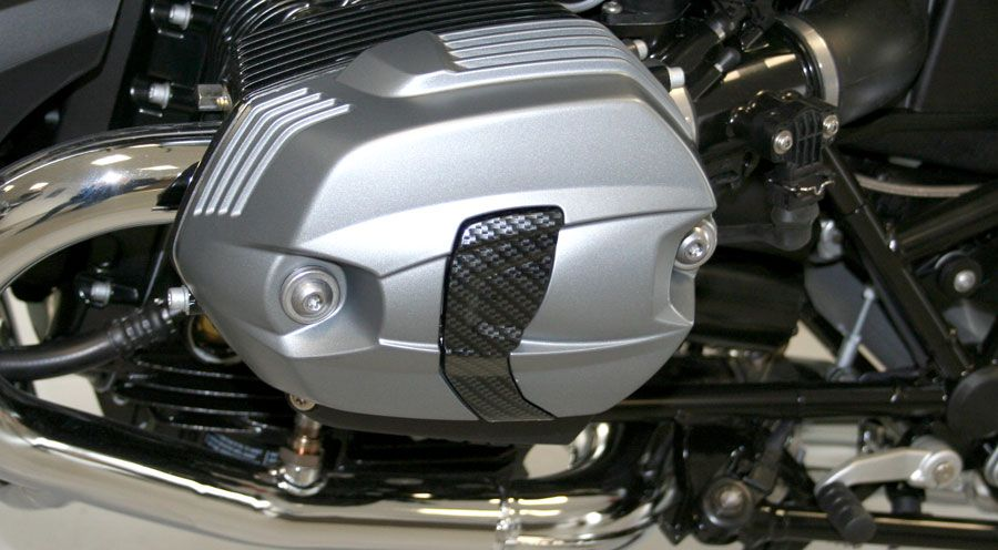 BMW R1200R (2005-2014) Coating of the Spark Plug Covers for DOHC