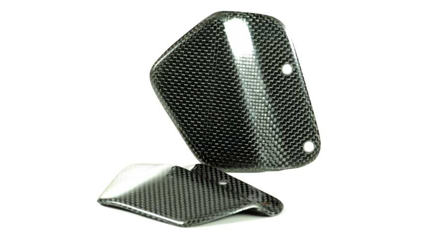 BMW S1000R Heel guards carbon fibre for FXR-BM01