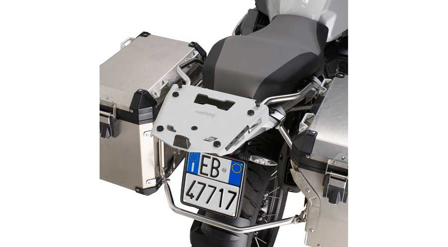 BMW R 1200 GS, LC (2013-) & R 1200 GS Adventure, LC (2014-) Top case mounting aluminium Adventure