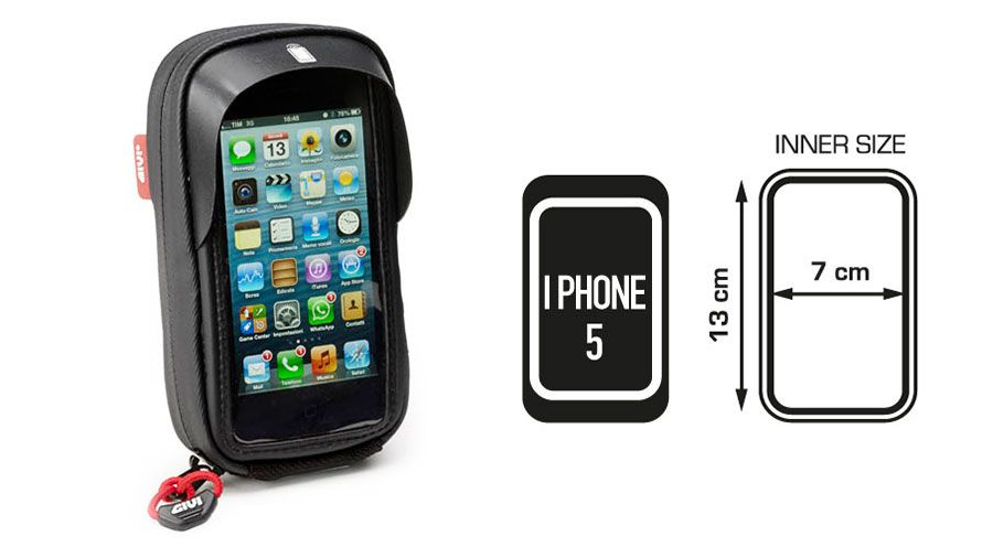 BMW F650GS (08-), F700GS & F800GS GPS Bag for iPhone4, 4S, iPhone5 and 5S