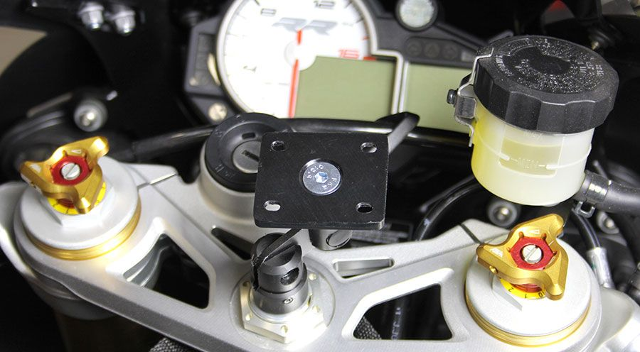 BMW S1000RR GPS Mounting with Plate