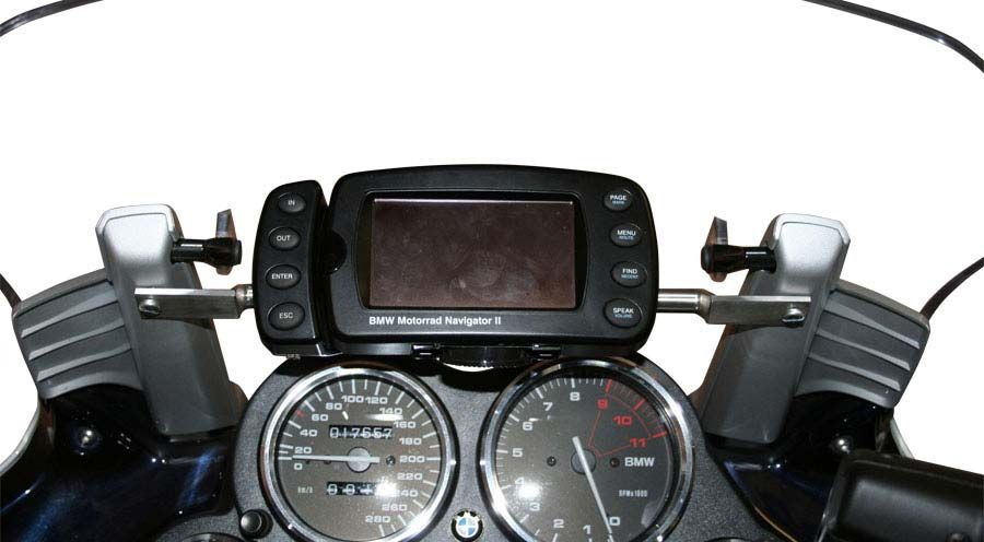 gps mounting for bmw k1200rs k1200gt motorcycle. Black Bedroom Furniture Sets. Home Design Ideas