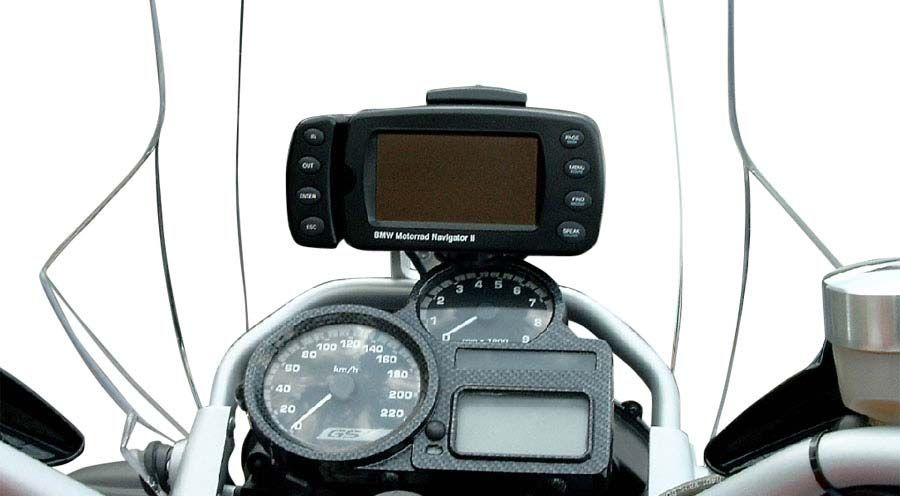 gps mount 1 for bmw r1200gs 2008 2012 motorcycle. Black Bedroom Furniture Sets. Home Design Ideas