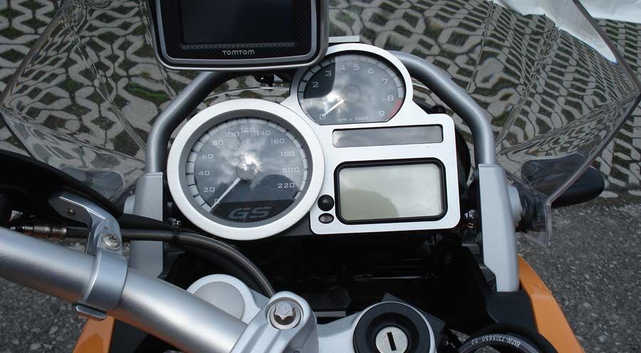 BMW R1200ST Speedometer cover