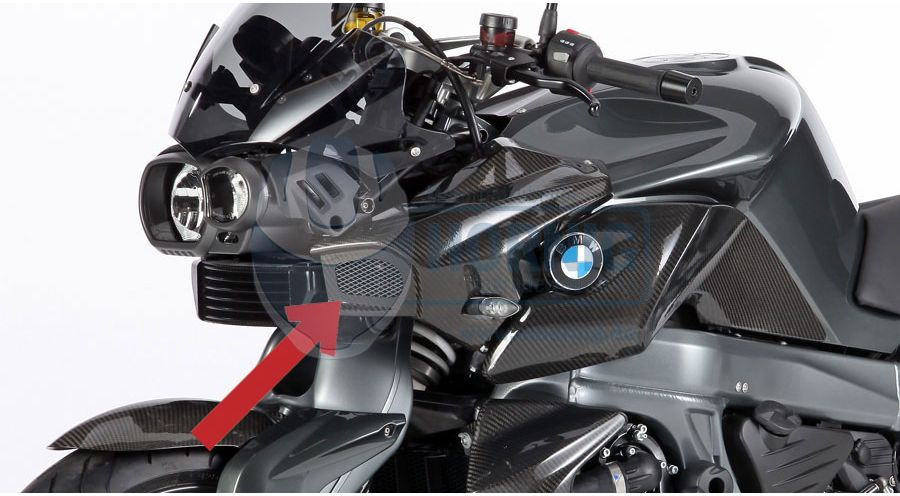 Carbon Airtube For Bmw K1300r Bmw Motorcycle Accessory Hornig