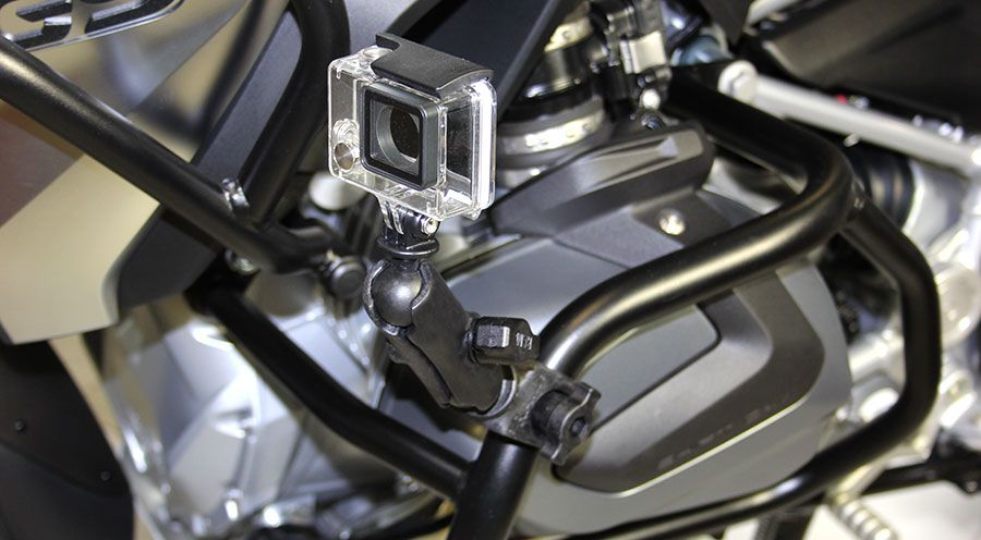 BMW K1300GT RAM Camera Mount