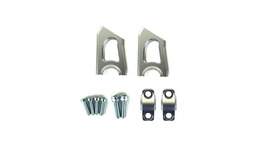 BMW R1200GS, R1200GS Adventure & HP2 Handlebar Risers with Offset
