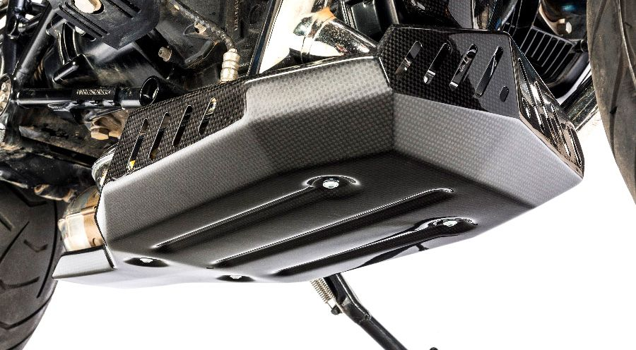 BMW R nine T Carbon Sump Guard - Undertray
