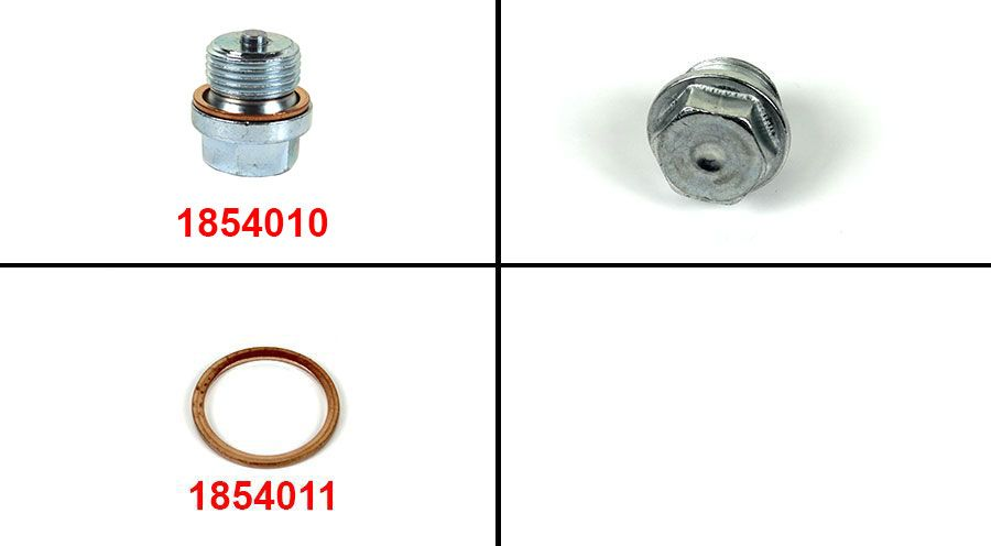 BMW R 100 Model Drain plug, magnetic