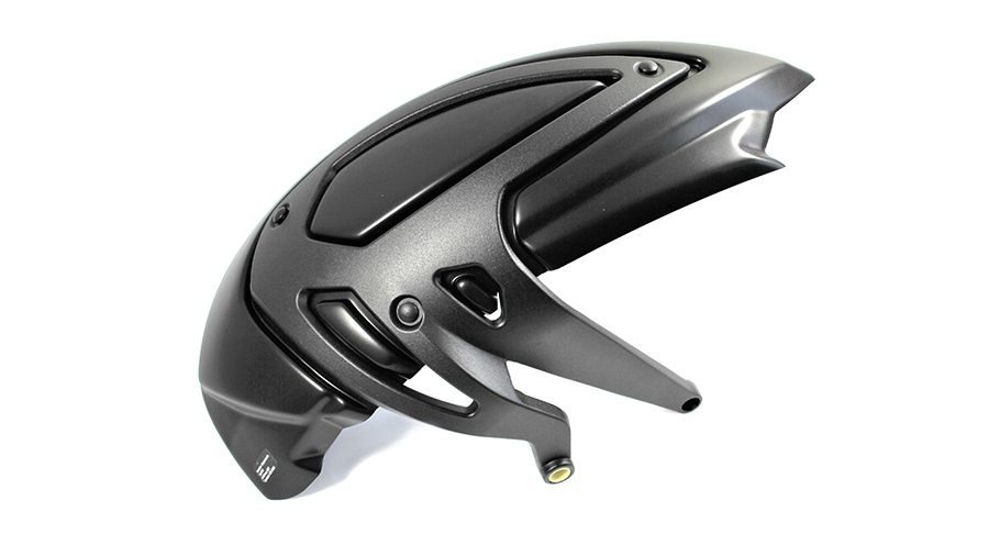 BMW K1200R & K1200R Sport ABS resin mud guard
