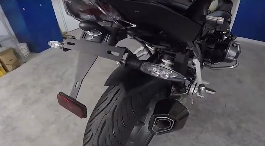 BMW R 1250 RS Registration Plate Holder