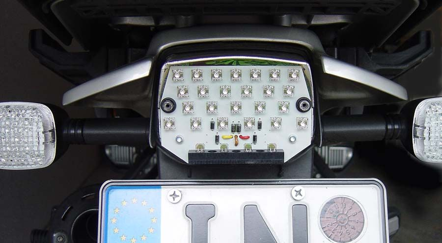 BMW R850GS, R1100GS, R1150GS & Adventure LED tail light panel