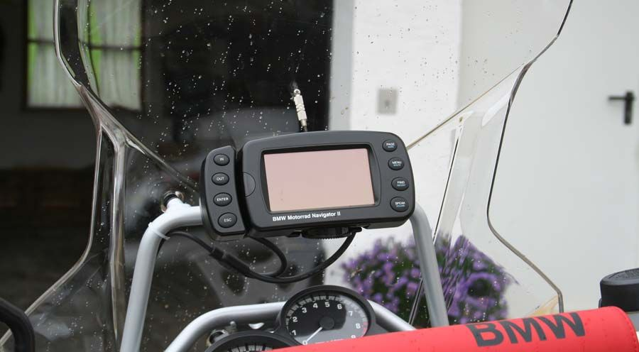gps mounting adventure for bmw f800gs adventure. Black Bedroom Furniture Sets. Home Design Ideas