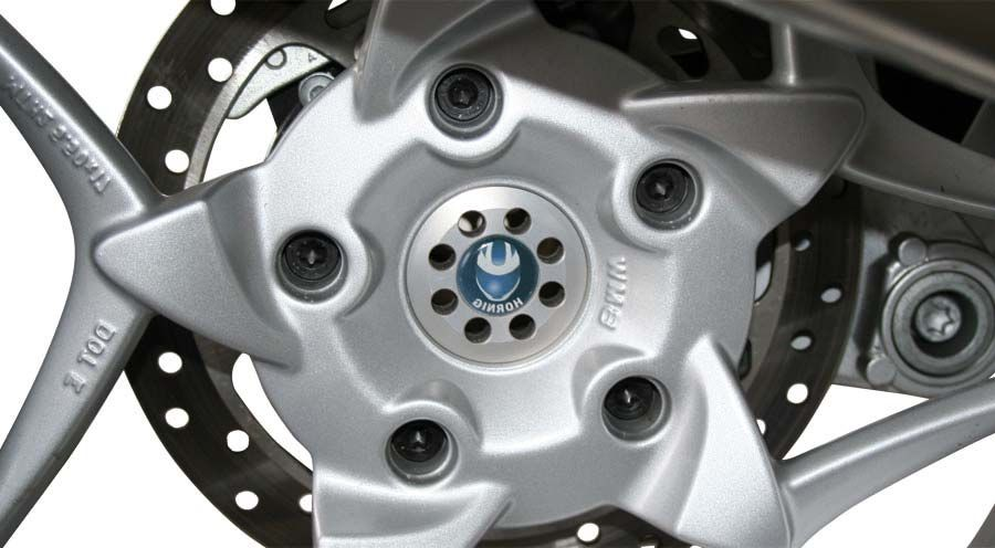 BMW K1300R Rear wheel centre cover