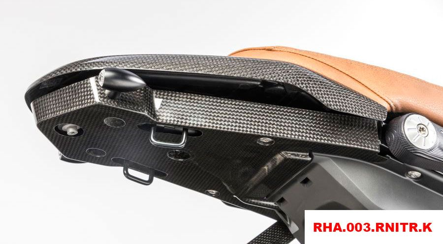 BMW R nine T Rear undertray (without number plate holder) & Rear undertray (without number plate holder) for BMW RnineT RnineT ...