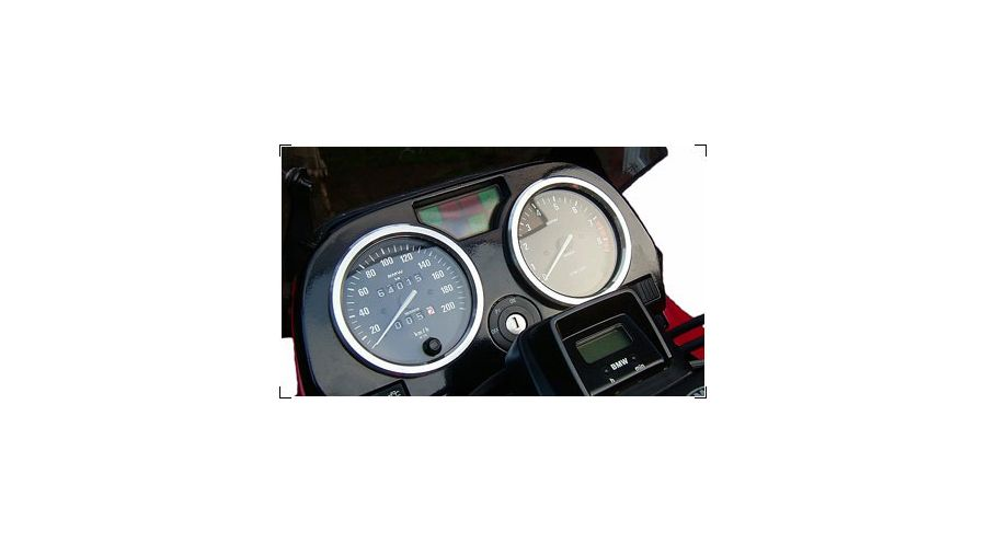 BMW R 80 Model Speedometer rings