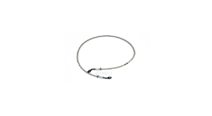 BMW R 100 Model Stainless-steel braided brake hose (one piece)