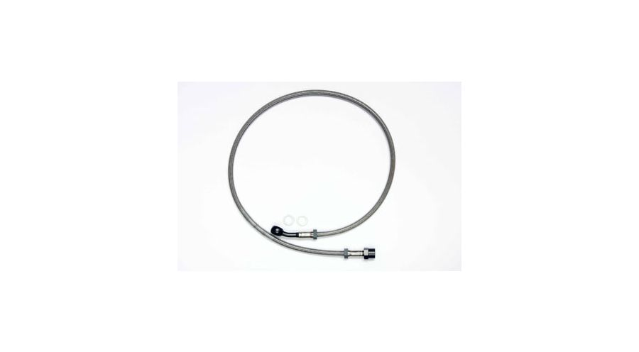 BMW R 100 Model Stainless-steel braided brake hose ( one piece)