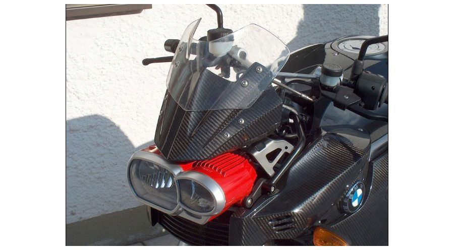 BMW K1300R Windscreen base