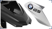 BMW R 1200 GS, LC (2013-) & R 1200 GS Adventure, LC (2014-) Carbon Fiber, GFK