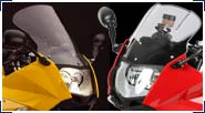 BMW F800S, F800ST & F800GT Windscreens