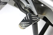 Brake pedal enlargement for BMW R1200GS LC