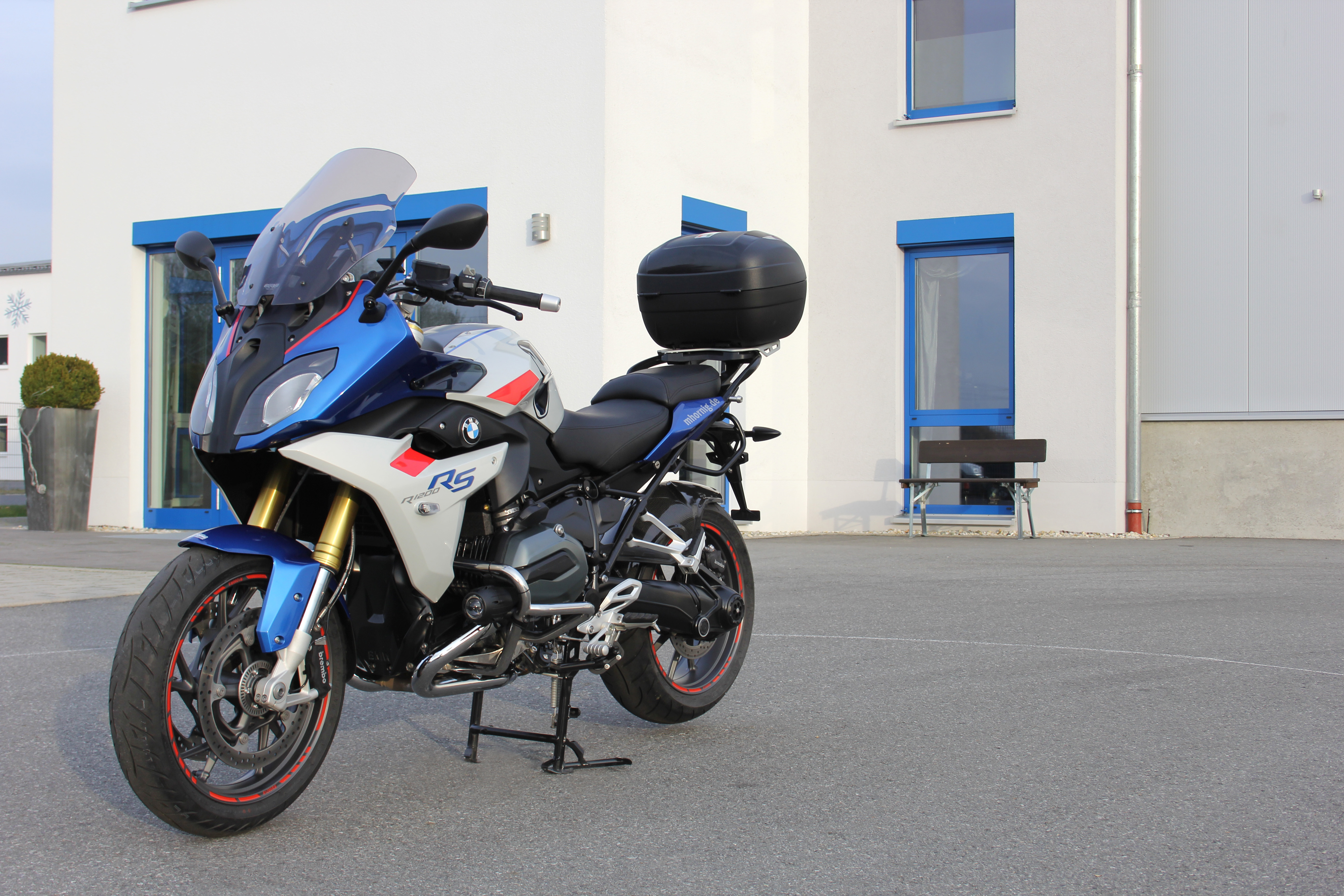 Bmw R1200rs Conversion By Hornig With More Comfort And Individuality