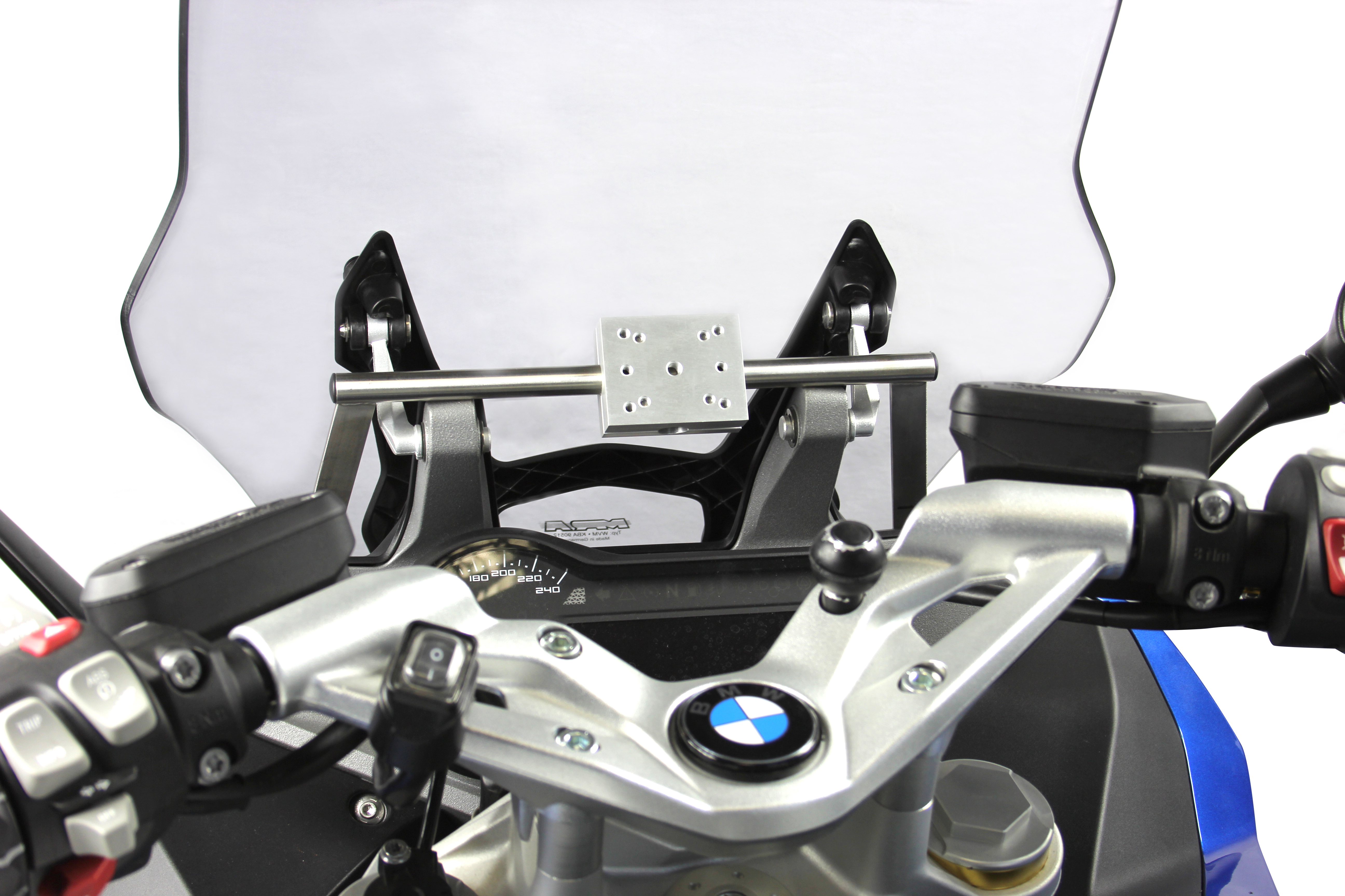 gps mount for bmw r 1200 rs lc 2015 motorcycle accessory hornig parts for your bmw motorrad. Black Bedroom Furniture Sets. Home Design Ideas