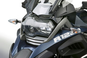 Polycarbonate LED Headlight Guard for BMW R1200GS LC & R1200GS Adventure LC