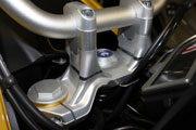 Handlebar risers for BMW S 1000 XR