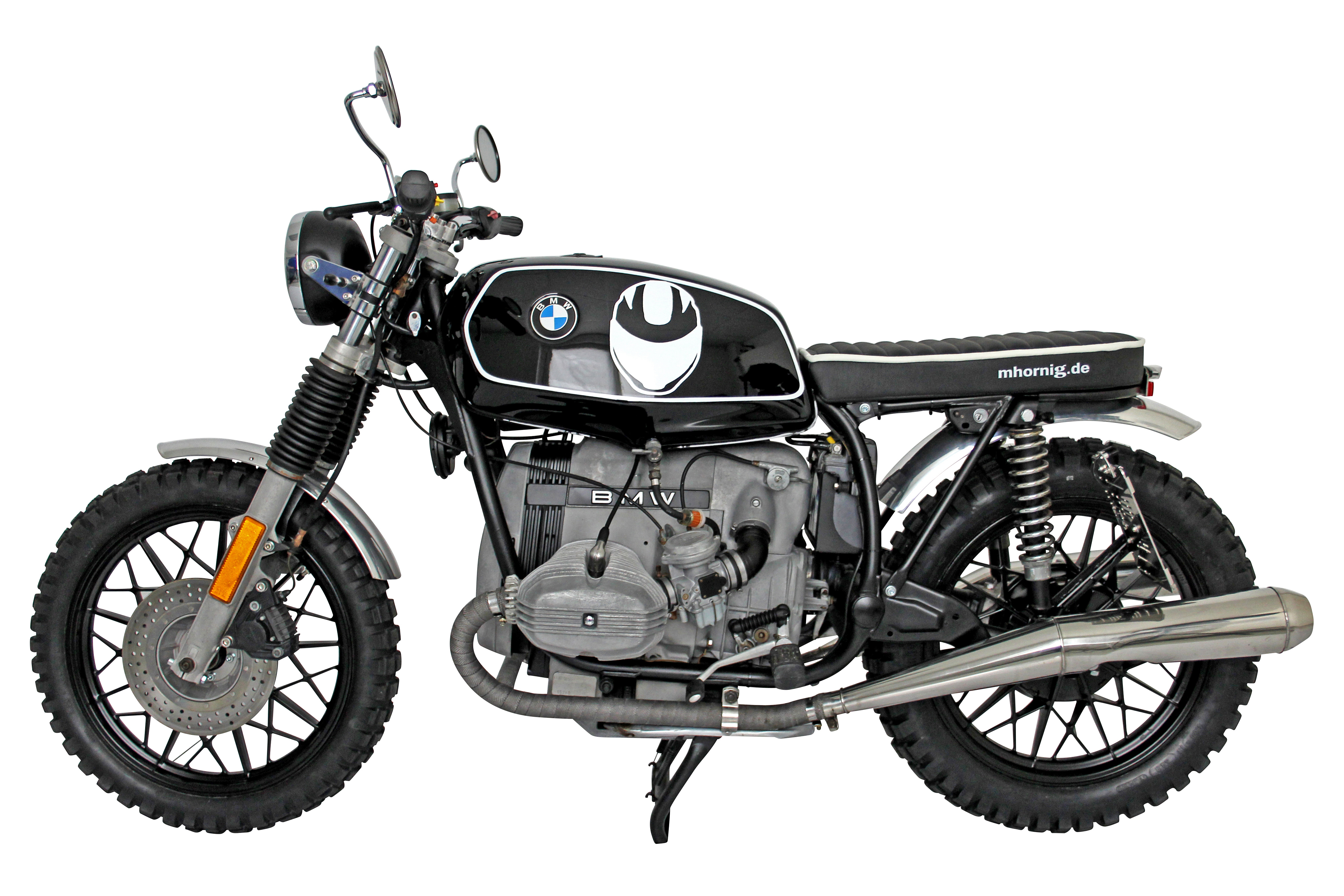 bmw r45 scrambler conversion by hornig t v approved and without frills motorcycle accessory. Black Bedroom Furniture Sets. Home Design Ideas