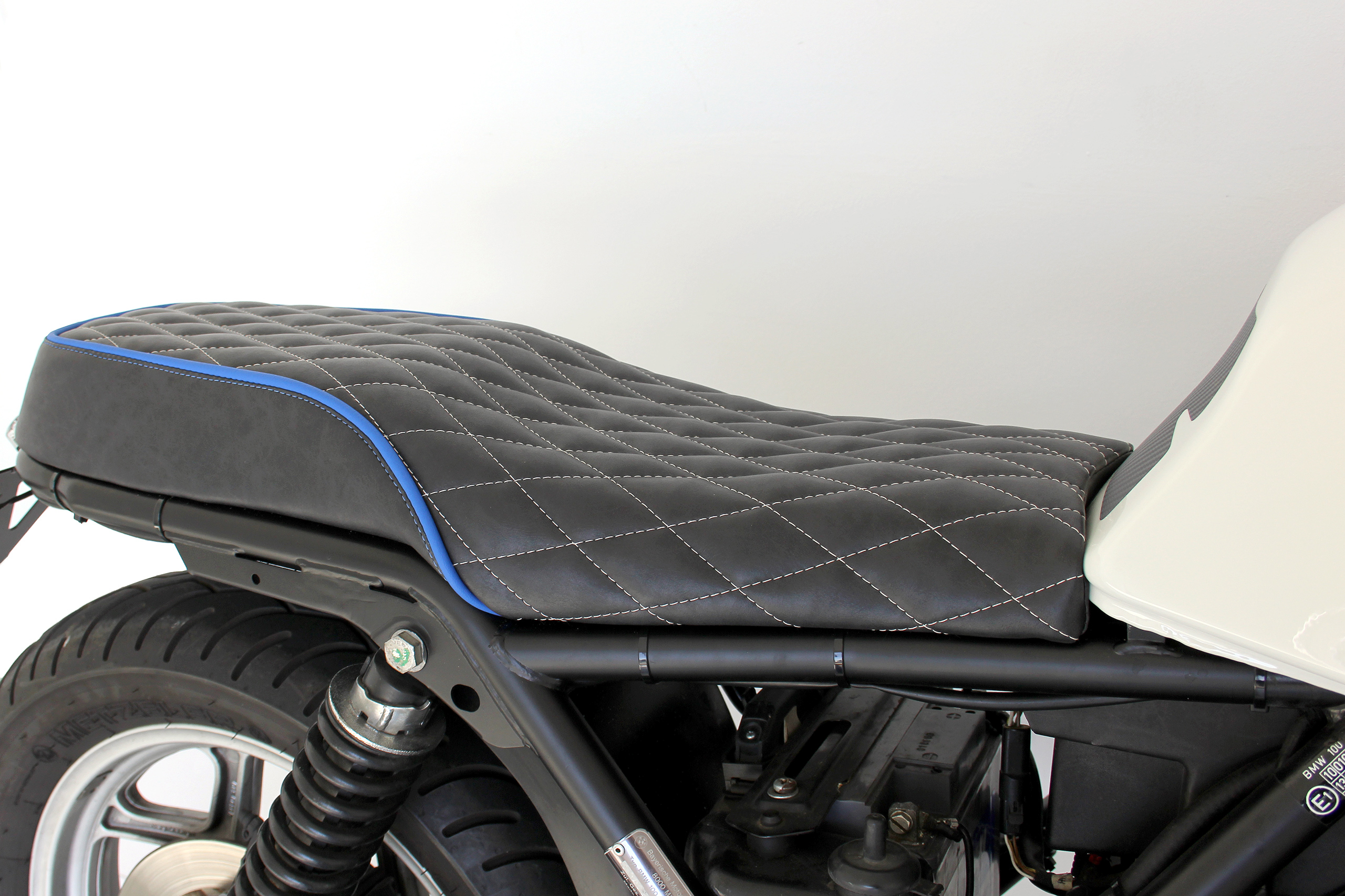 Bmw K100rs Caf Racer By Hornig Trendy Retro Look With Tv Approval Battery Wiring Harness K100lt Printable Picture